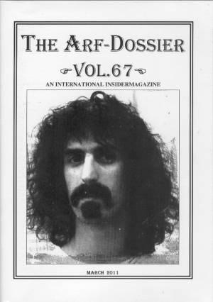 Frank Zappa Fanzine Arfd65