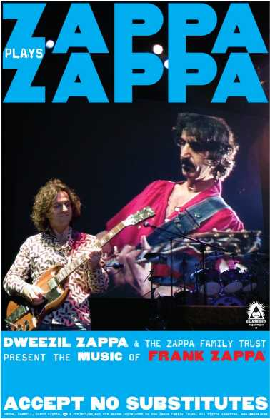 2007/08/23 Zappa Plays Zappa – concert 'Wiltern', Los Angeles, CA, usa